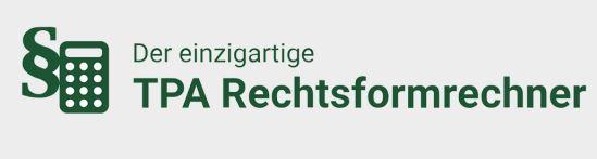 TPA Rechtsformrechner: AT, GmbH oder EPU? Zum Online Tool für Unternehmer!