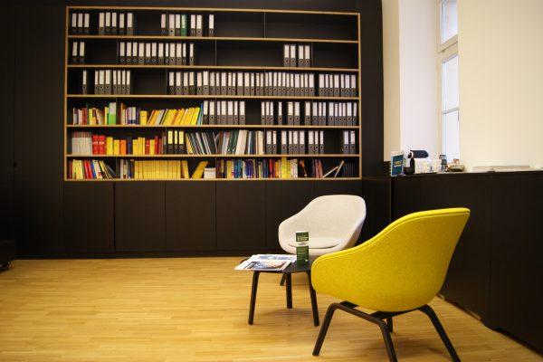 Bibliothek TPA Steuerberatung Innsbruck