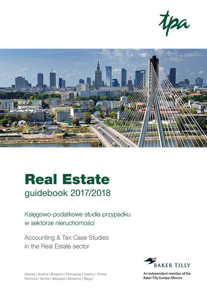 TPA Real Estate Guidebook tax accounting