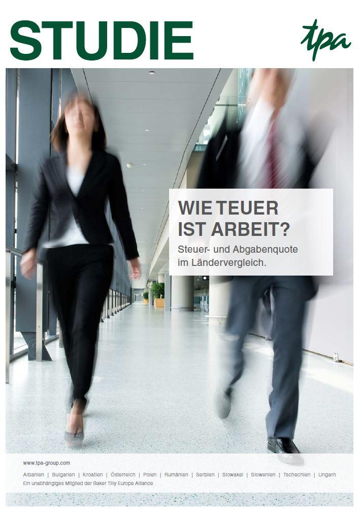 Wie teuer ist Arbeit? Was bleibt vom Lohn in Österreich? Wo verdient man mehr?