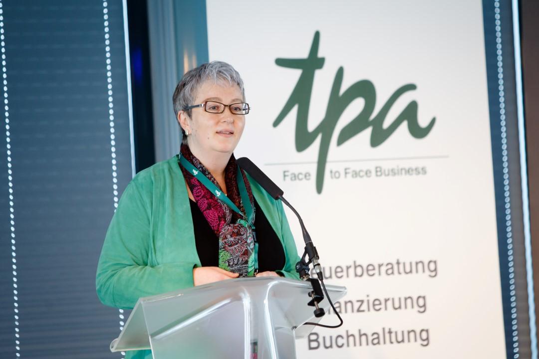 Energy Tomorrow 2018 TPA Partnerin Karin Fuhrmann