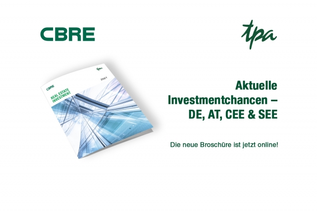 TPA CBRE Real Estate Investments Tipps Immoblieninvestitionen