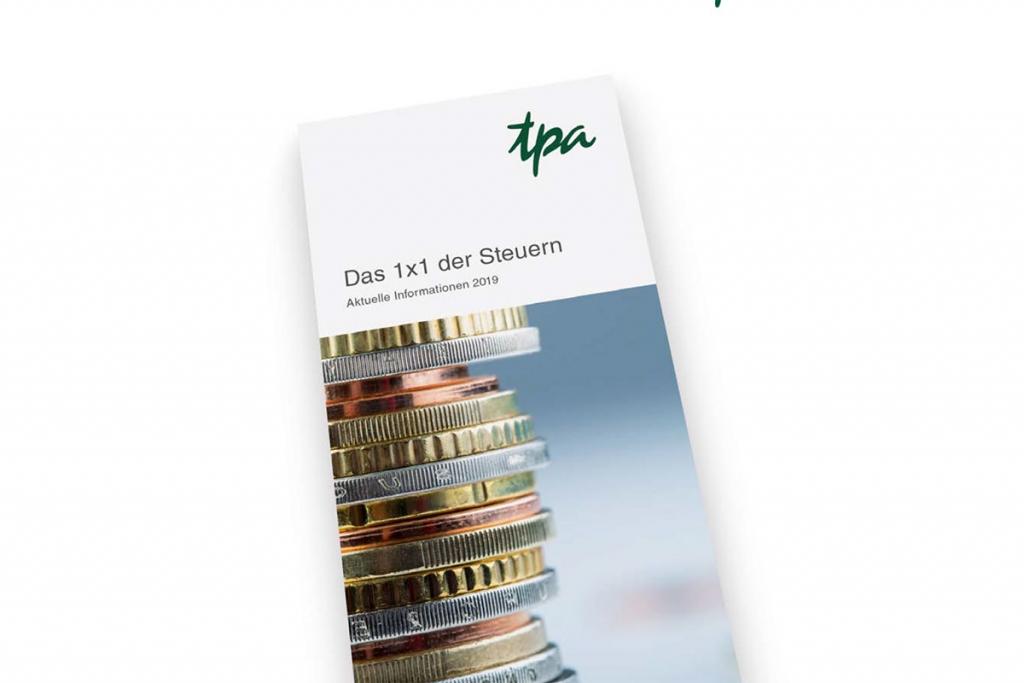 TPA Steuerberatung: 1x1 der Steuern. Alles über Steuern in Österreich!