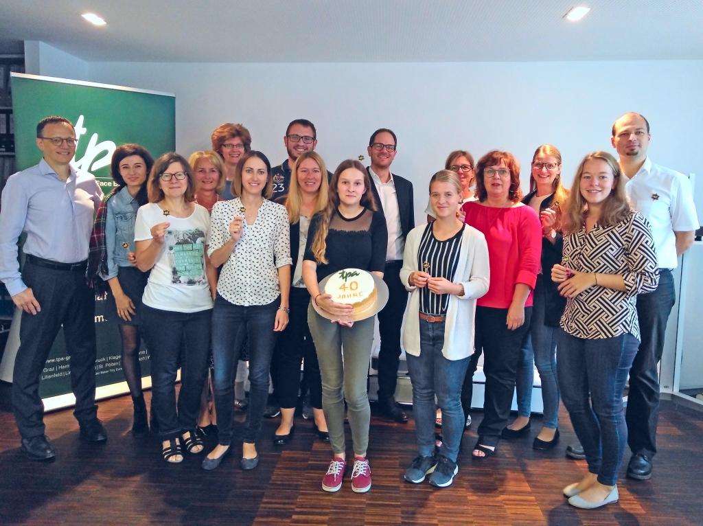 Happy Birthday! TPA Steuerberatung in St.Pölten feiern den 40er!