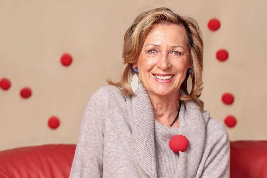 Face to Face Interview mit monica Culen, Gründerin der Roten Nasen. Foto: Alexander Müller