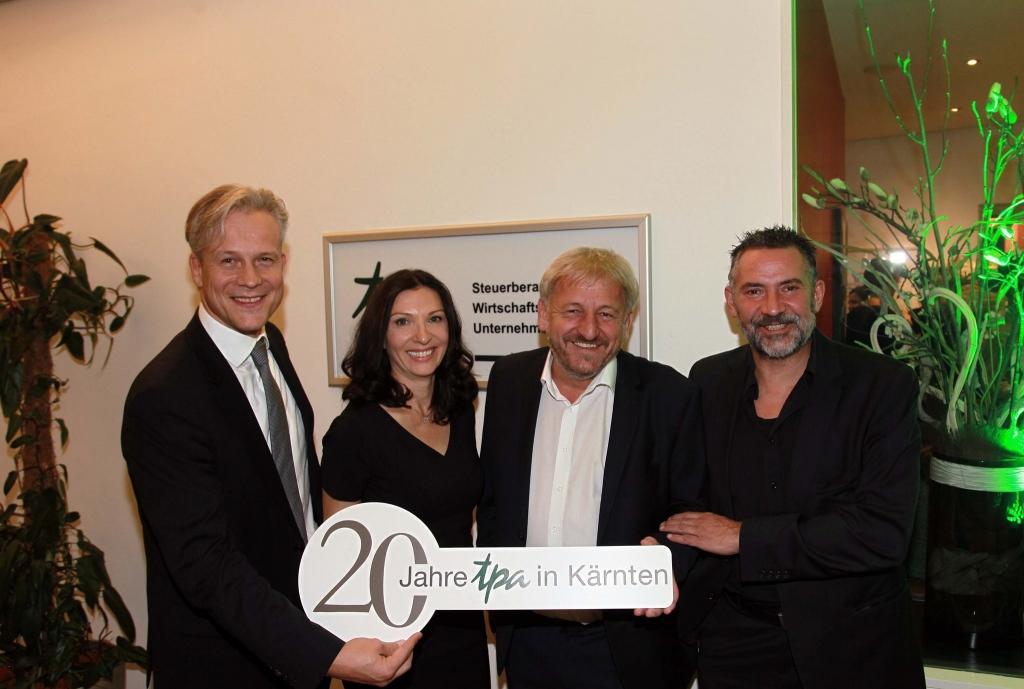 20 Jahre TPA Steuerberatung in Kärnten