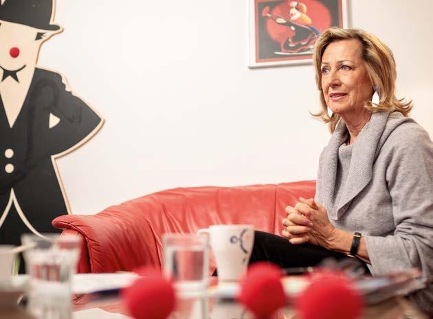 TPA Steuerberatung Interview Monica Culen, Rote Nasen Cliniclowns - Foto: Alexander Müller