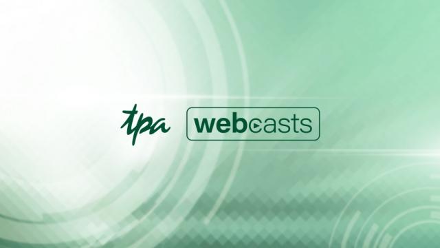 TPA webcast