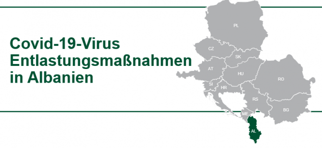 Albanien: COVID19 Virus Hilfe für Unternehmen TPA
