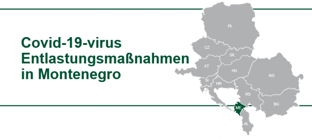Montenegro: COVID-19 Virus Hilfe für Unternehmen - TPA