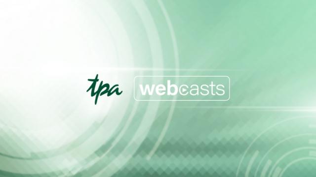 TPA Webcasts - Online Webinare anschauen und live unsere Experten fragen!