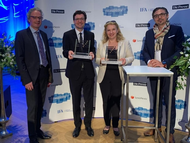 Steuerberater Award 2020 TPA Steuerberatung Immobilien Kärnten - Steuerberater des Jahres 2020