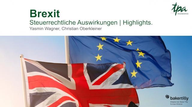 WEBCAST Brexit - TPA Steuerberatung Video