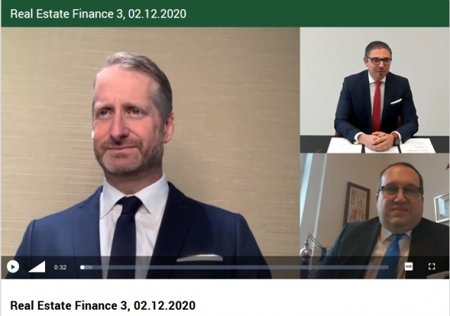 REAL ESTATE FINANCE Webcast: CEO 6B47 Sebastian Nitsch im Gespräch mit TPA Steuerberater Gerald Kerbl und Partner DLA PIper Christoph Urbanek