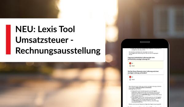 Lexis Umsatzsteuer Online Tool Rechnungsausstellung