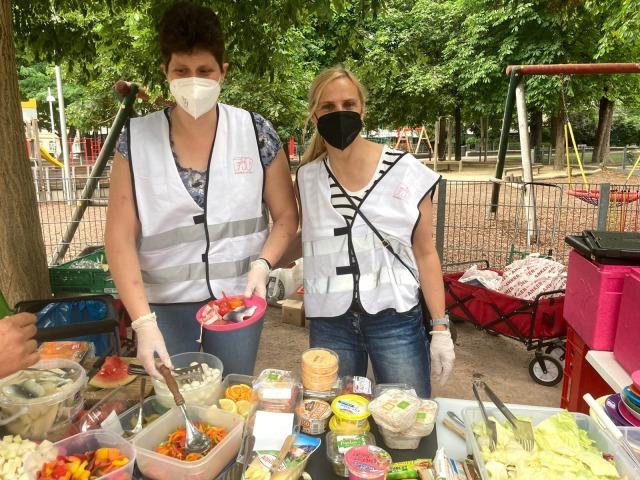Frühstück im Park - TPA Steuerberatung IRW Gemeinsam Gutes Tun